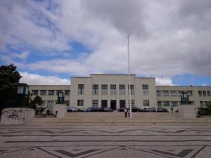 Budynek główny Instituto Superior Tecnico